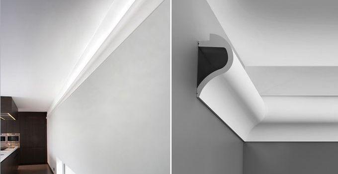 Awesome Indirekte Beleuchtungselemente schaffen in Wohnungen Gesch ften B ror umen und Hotels eine angenehme Atmosph re Mit Lichtleisten setzen wir f r unsere