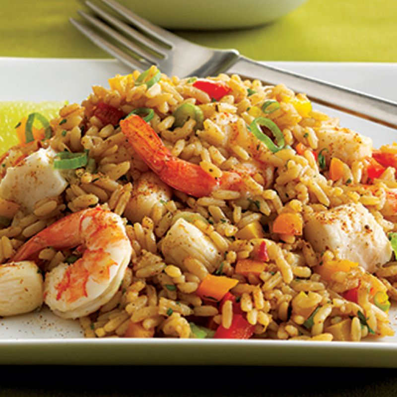 Seafood dirty rice recipe pinterest dirty rice delicious keep some frozen shrimp in the freezer and zatarains dirty rice mix in the pantry ccuart Image collections