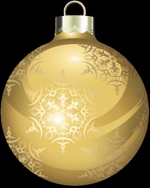Transparent Gold Christmas Ball Clipart Christmas balls