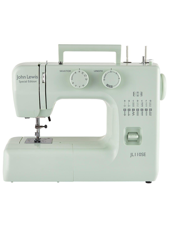 John Lewis Partners Jl110 Sewing Machine Peppermint Sewing Machine Accessories Janome Sewing Machine Parts