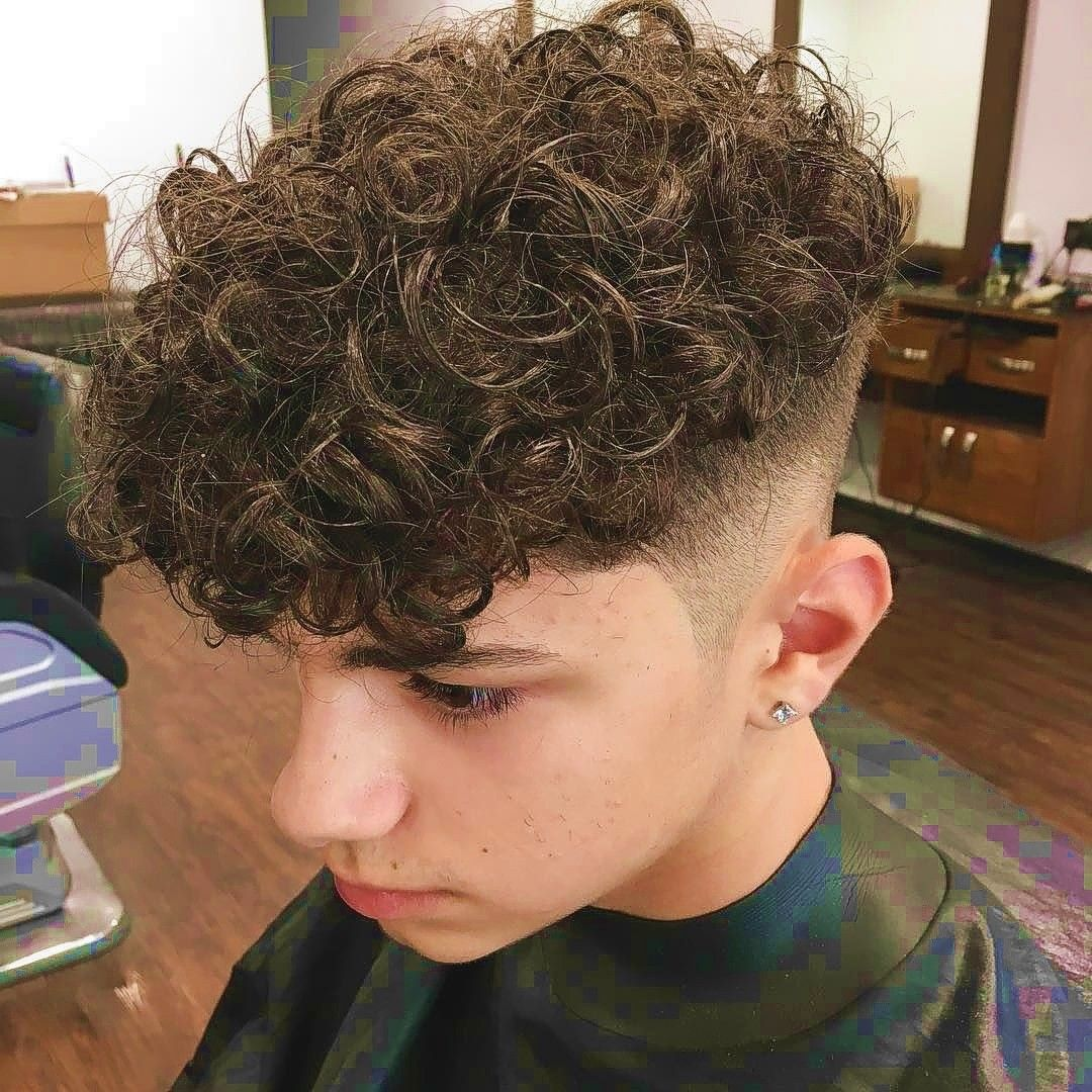Curly Mop Top Sides Shaved Curly Hair Styles Haircuts For Curly Hair Long Hair Styles Men