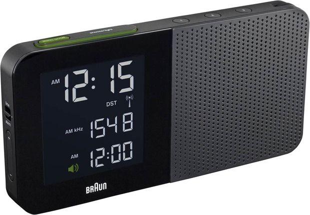 Braun Digital Vs Braun Analog Radio Alarm Clock Alarm Clock Braun Alarm Clock