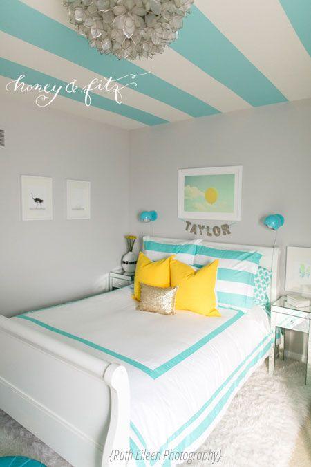 a turquoise tween bedroom big girl rooms bedroom room girls rh pinterest com