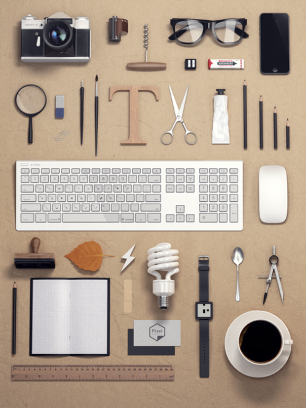 50 Amazing Examples of Knolling Photography - UltraLinx http://theultralinx.com/2013/09/50-amazing-examples-knolling-photography/