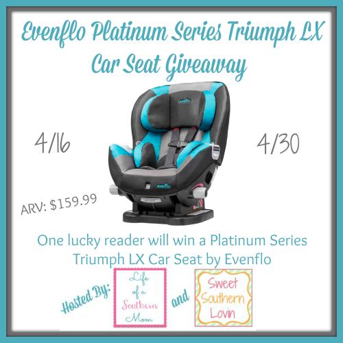 Evenflo Platinum Series Triumph LX Car Seat