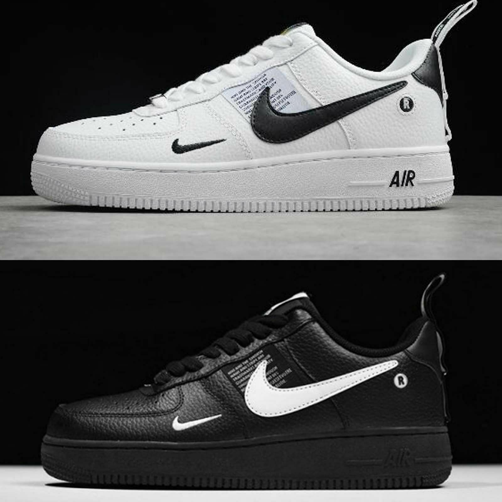 nike air force 1 nere uomo