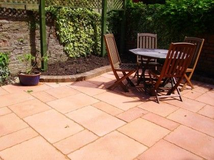 Terracotta Patio Slabs Google Search