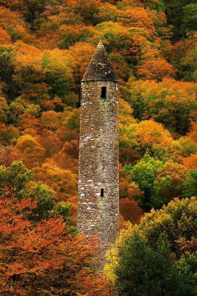 Pin by A K on castle Ireland landscape, Round tower