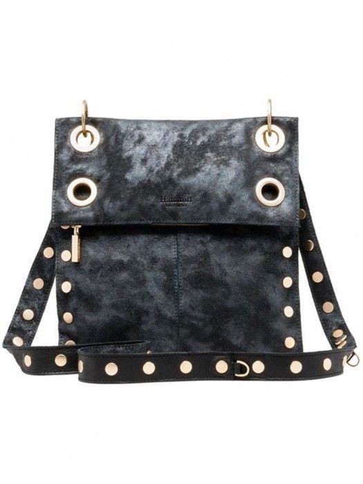 9315a8760e Hammitt Los Angeles Montana Reversible Cross Body Bag Galaxy Black Brushed  Gold