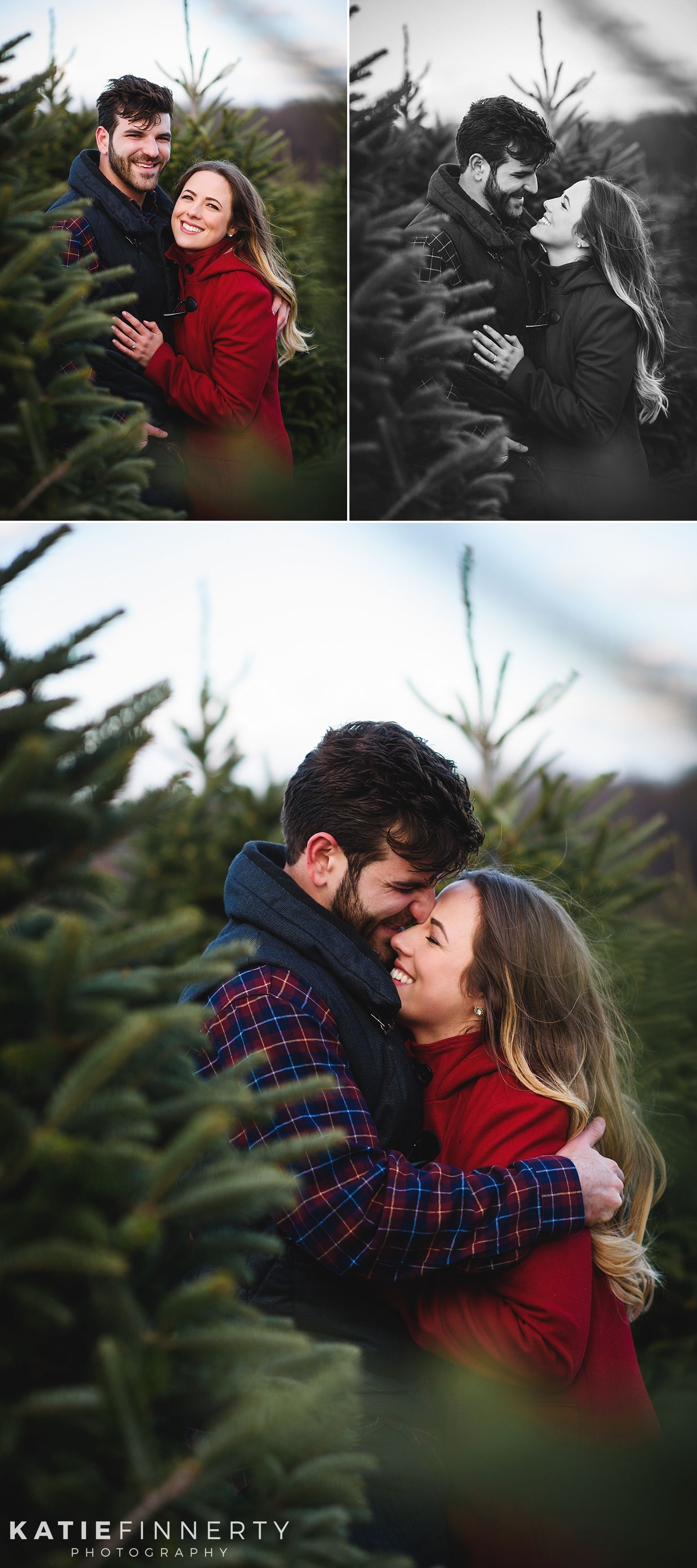 Weihnachtsbaumfarm Verlobungssitzung Paulina Nick Rochester Buff Christmas Tree Farm Photo Shoot Christmas Tree Farm Pictures Christmas Tree Farm Photos