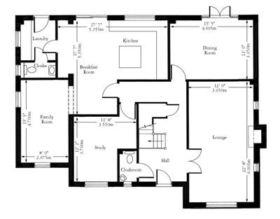 Floor Plan Design With Dimension Google Search