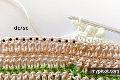 MyPicot   Patrones de puntadas de ganchillo gratis