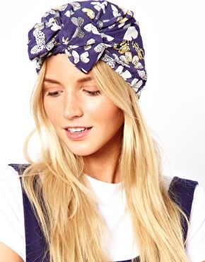 ASOS Butterfly Turban With Front Bow Tie Detail | Fall