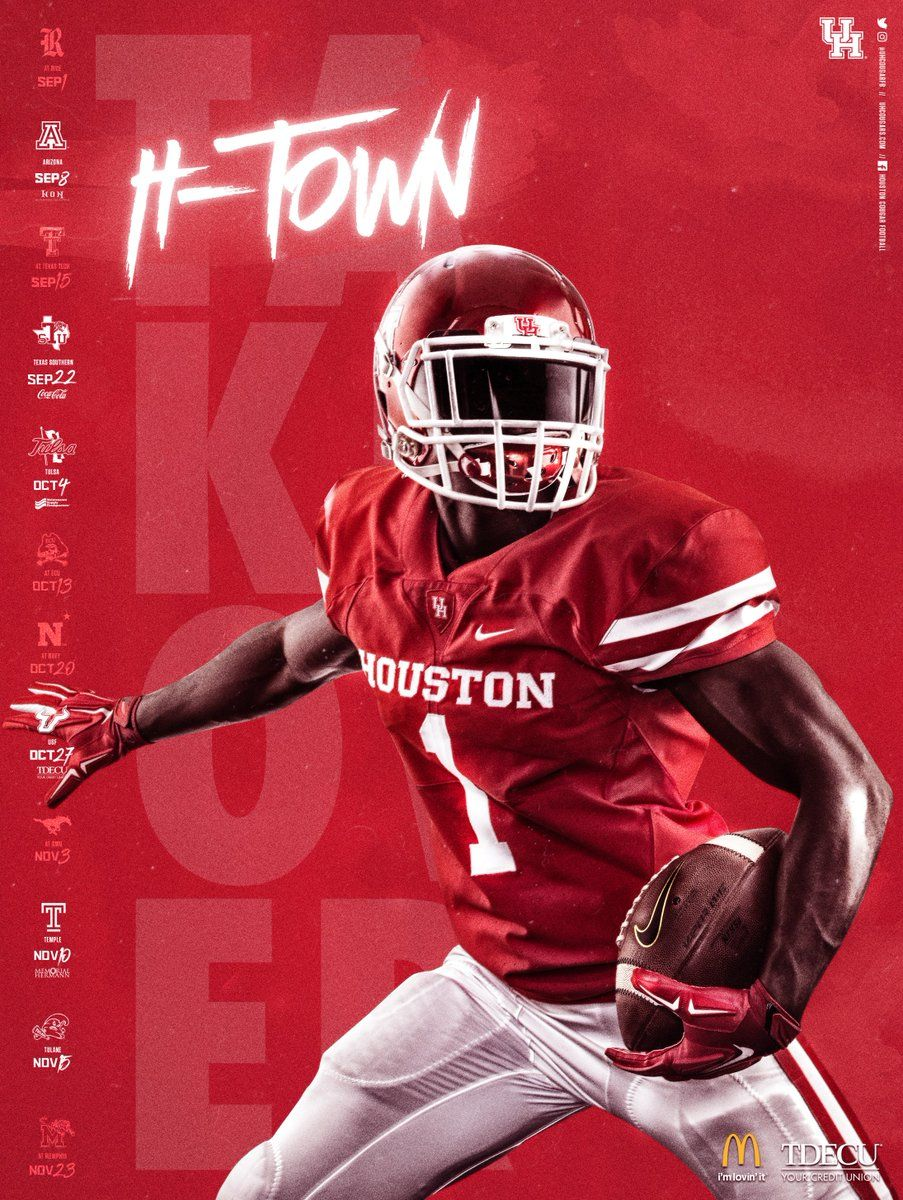 Houston College football schedule, Ncaa college football