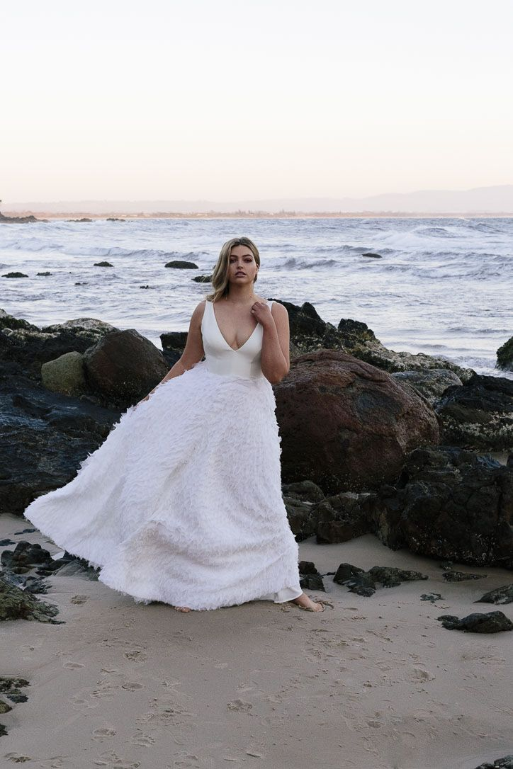 Plus Size Bridal Collection of the Week | Curve Collection by Chosen ...