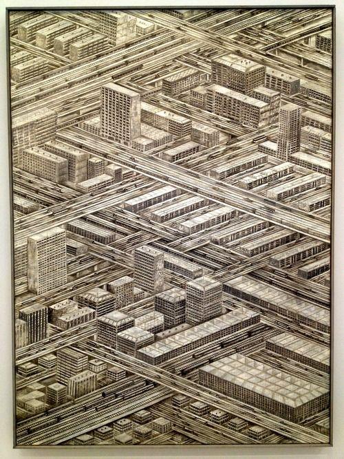 Thomas Bayrle - Die Stadt (1976)