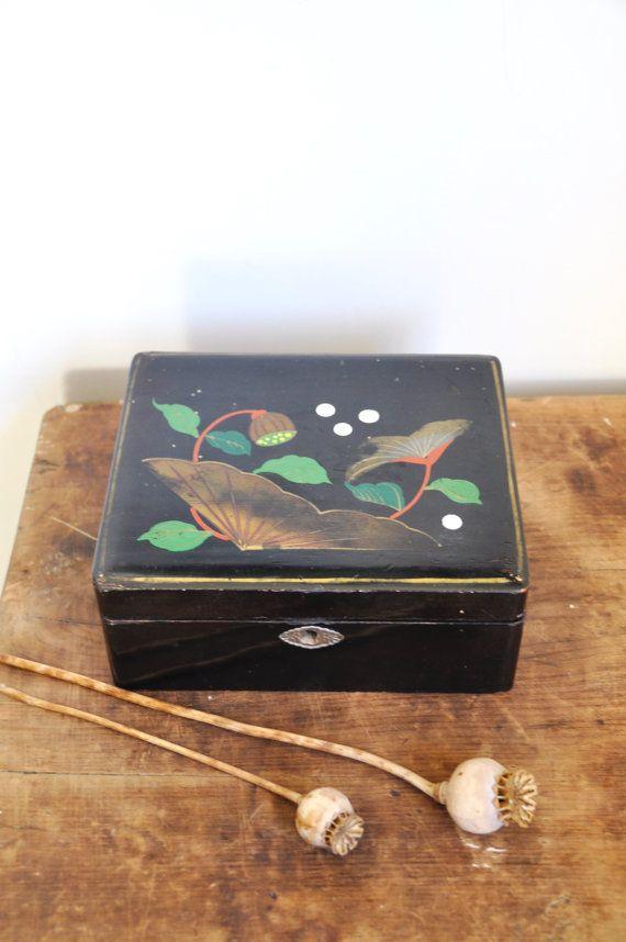 Vietnamese Jewellery Box Vintage Storage Container Asian