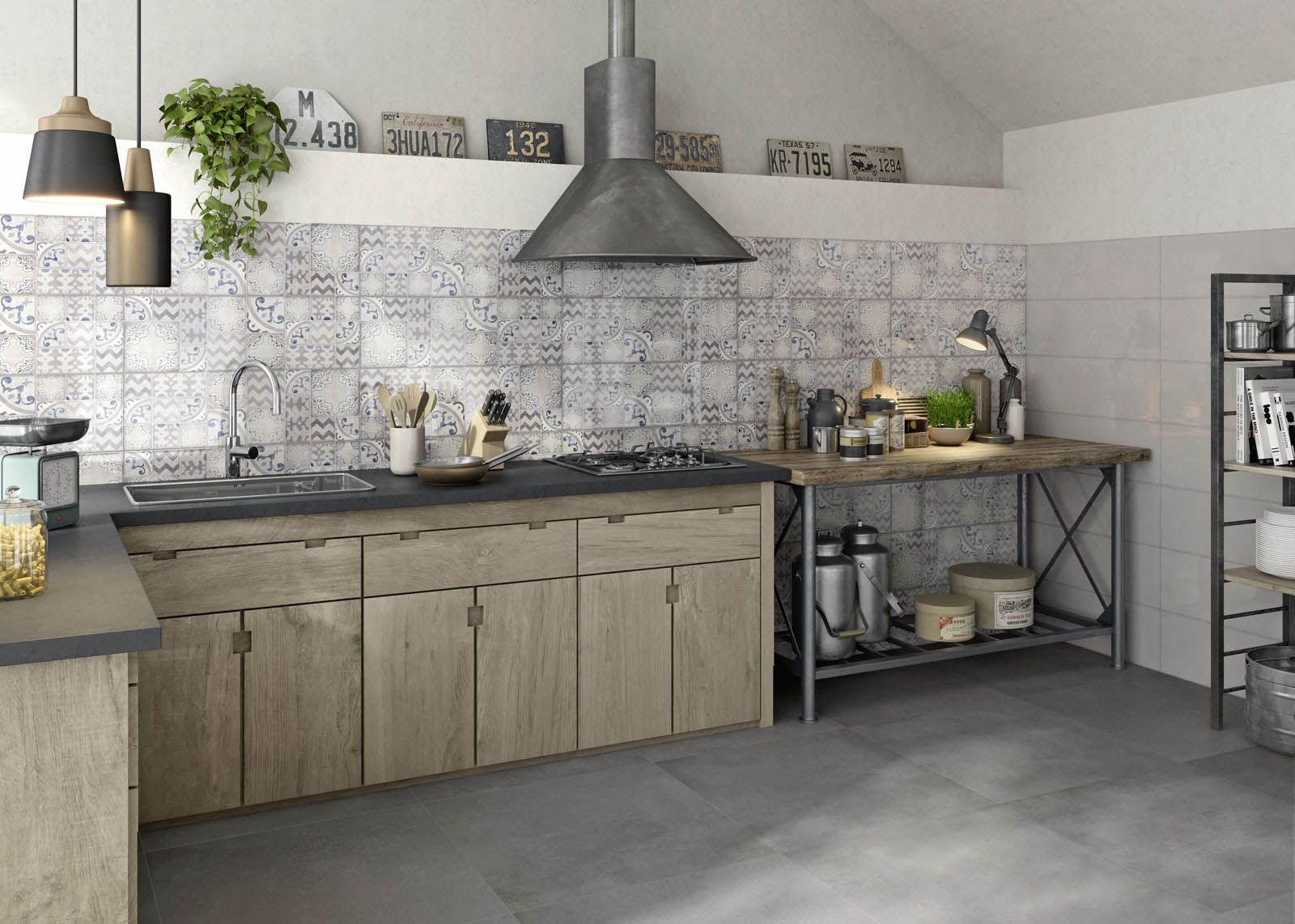 #Pottery | #ceramics | #walltiles | #Marazzi | #kitchen | # Part 18