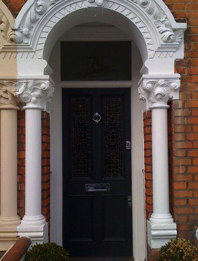 Black Victorian front door by the London Door Company | doors ...