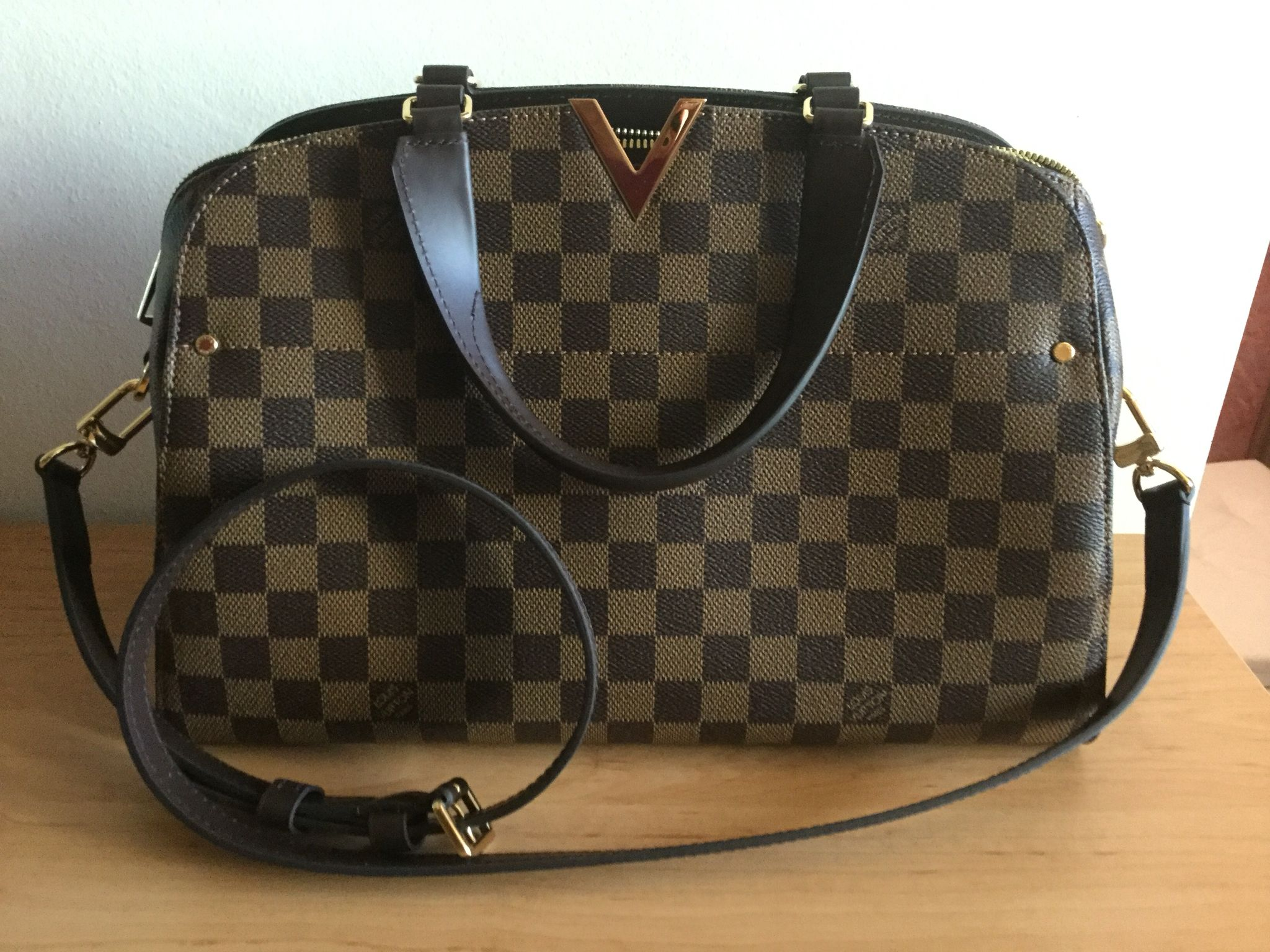 d254006a2763 Louis Vuitton Kensington Bowling Damier Canvas