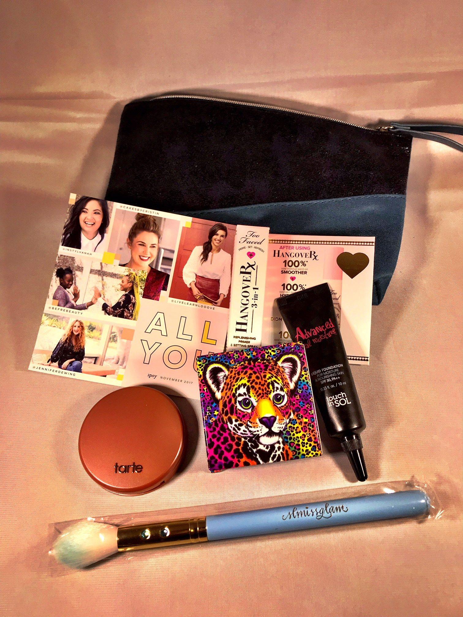 Ipsy Subscription box November Unboxing Beauty box