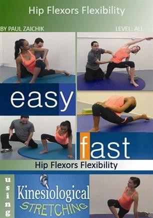 hip flexors flexibility  workout hip flexor exercises