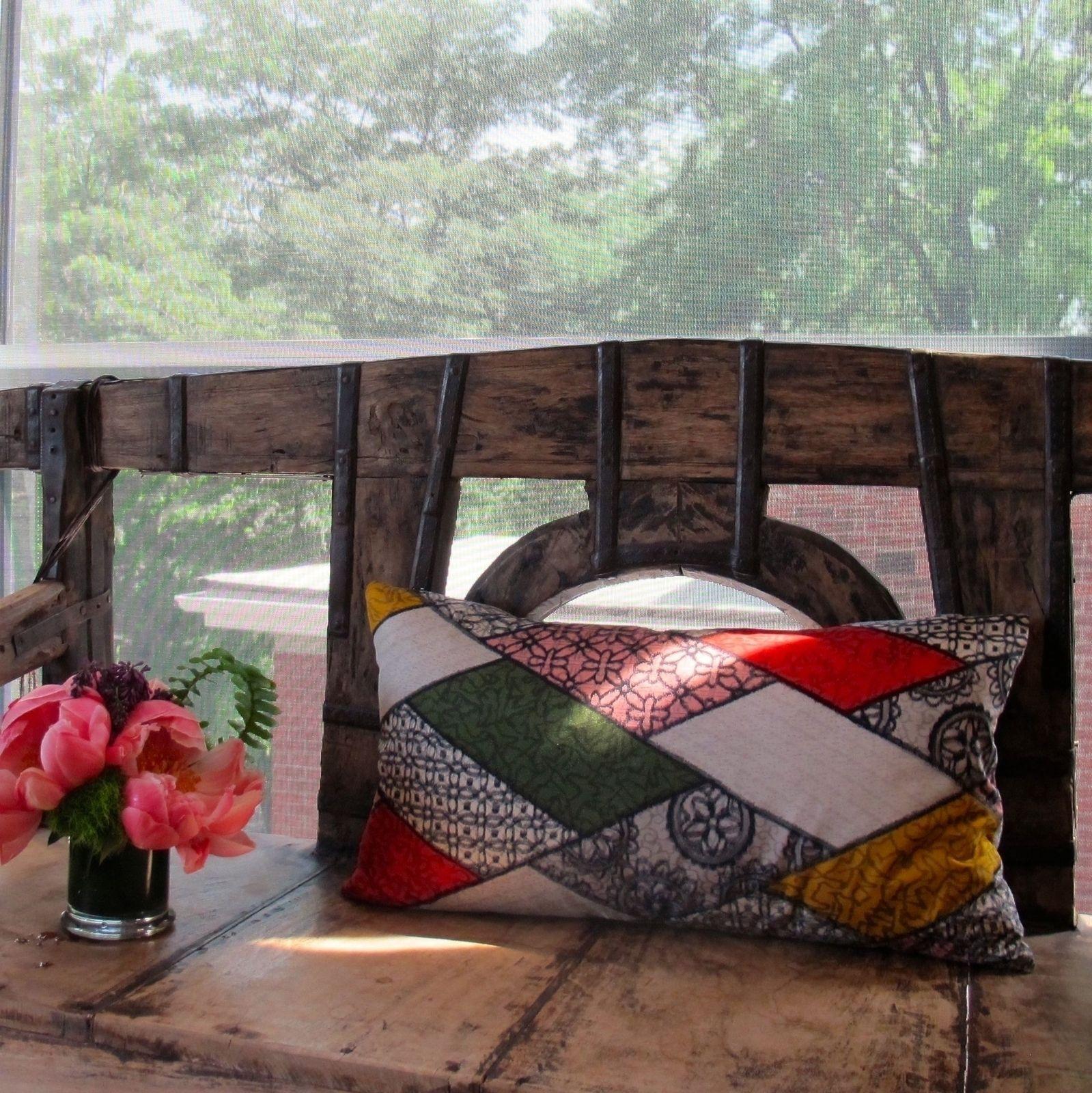 Pillows one of a kind one at a timesilk kimono pillow