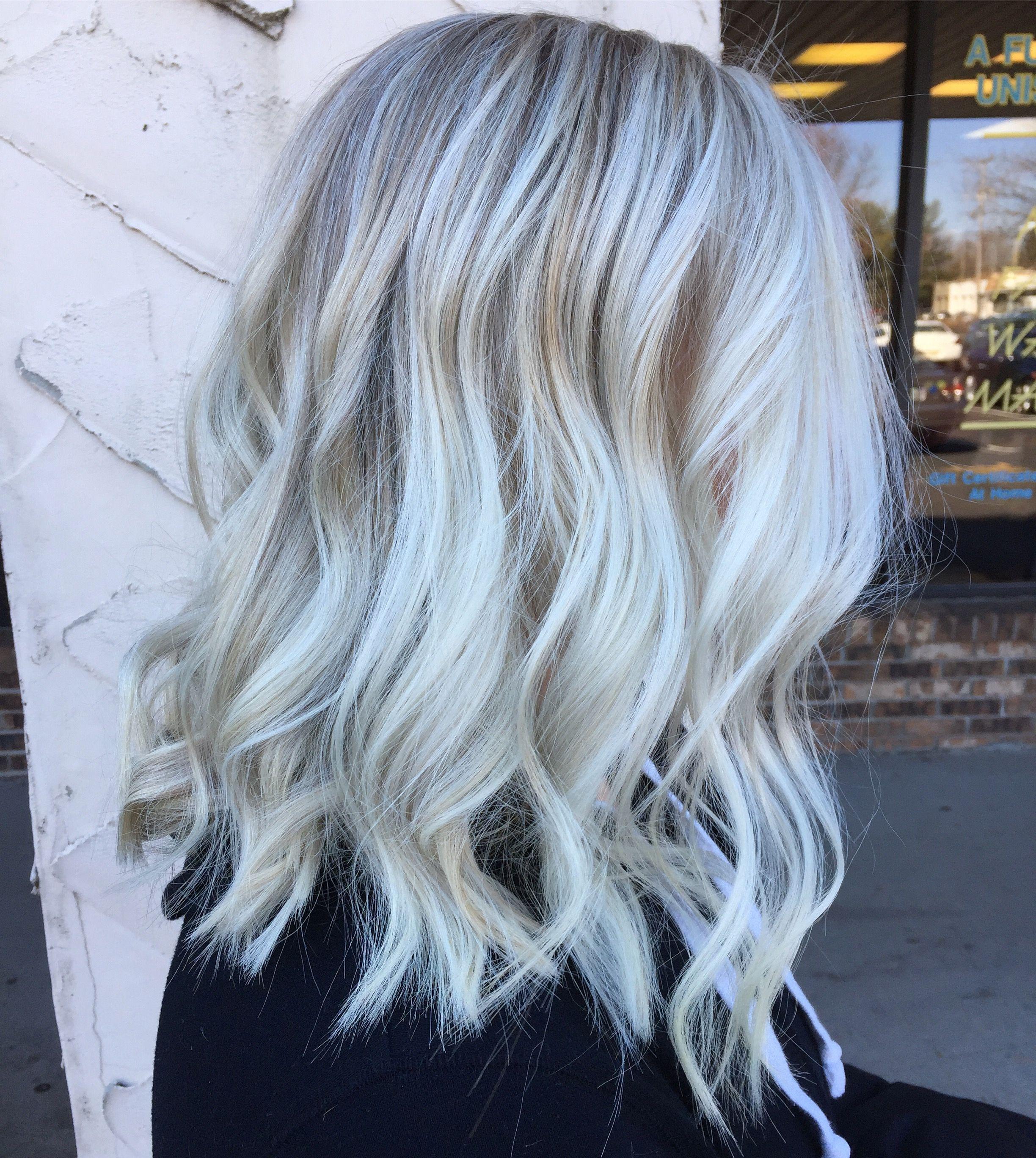Icey blonde @hair_by_lah   HAIR ️   Ice blonde hair ...