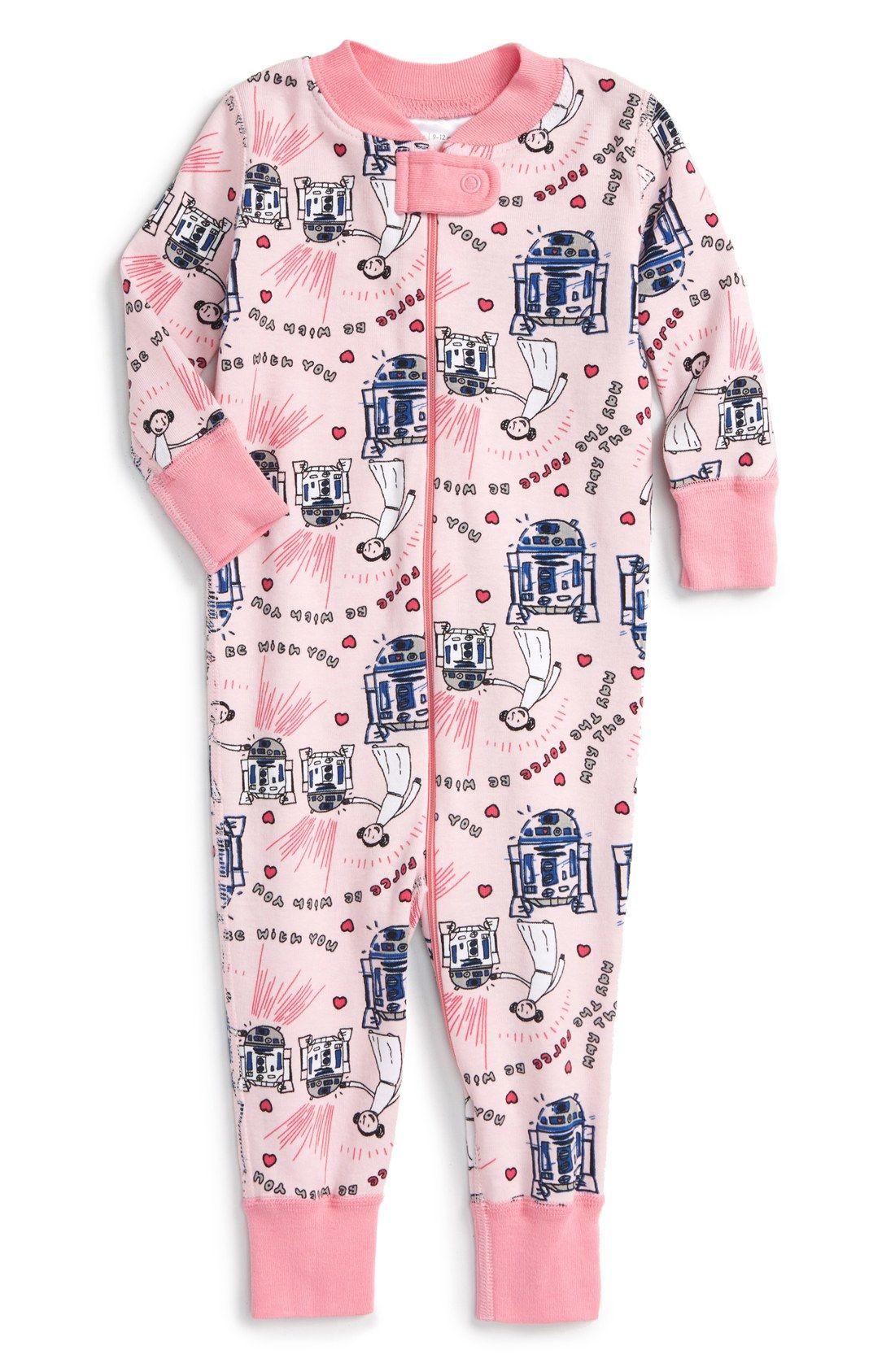 Hanna Andersson 'Star Wars - Valentine's Day' Organic Cotton ...