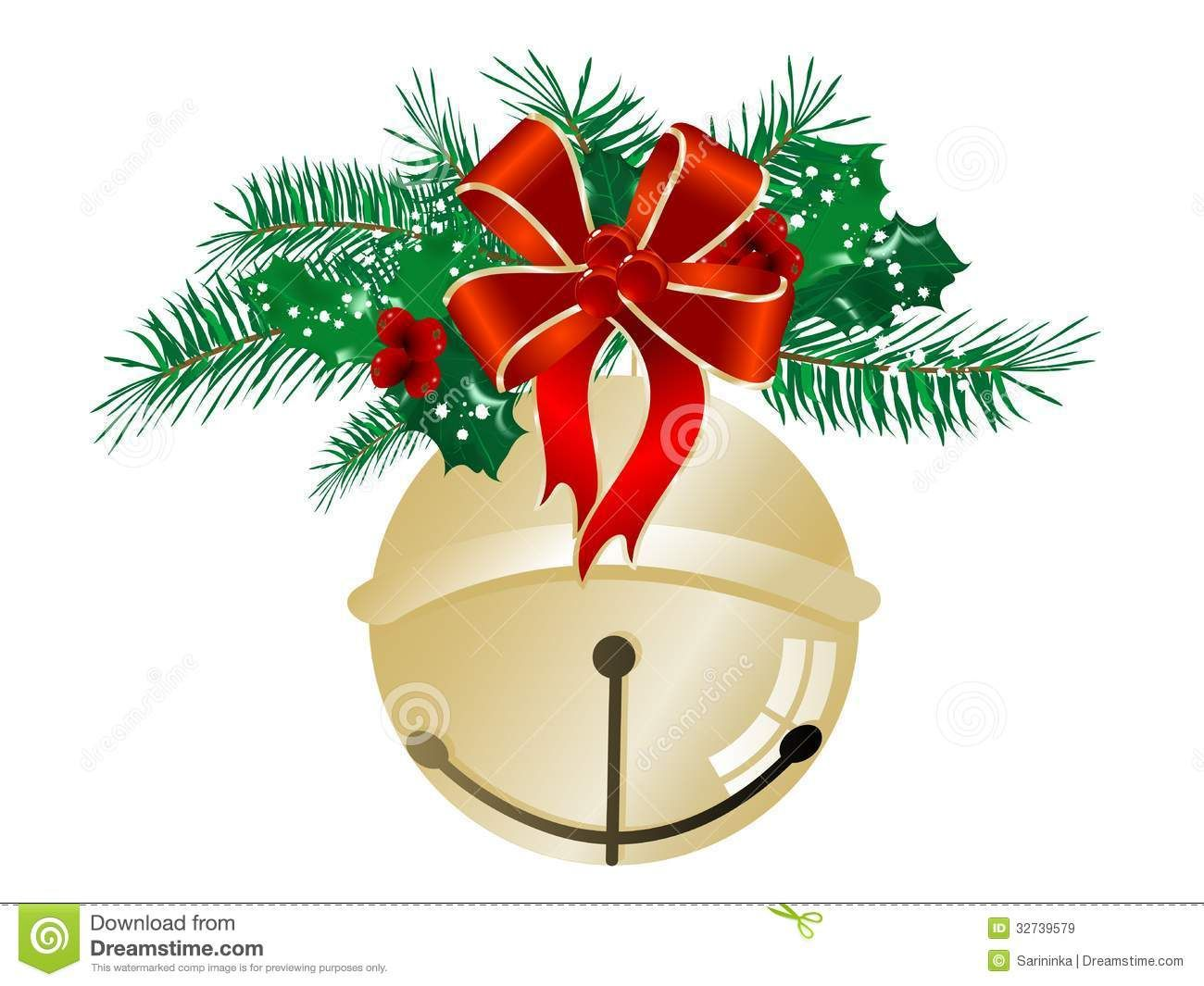 23+ Christmas bells clipart images info