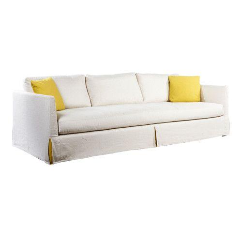 Slipcovered Sofa From Lillian August Furnishings Design