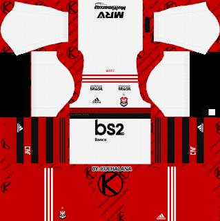 Flamengo 2019 2020 Kits Dream League Soccer Kits Soccer Kits Goalkeeper Kits Soccer