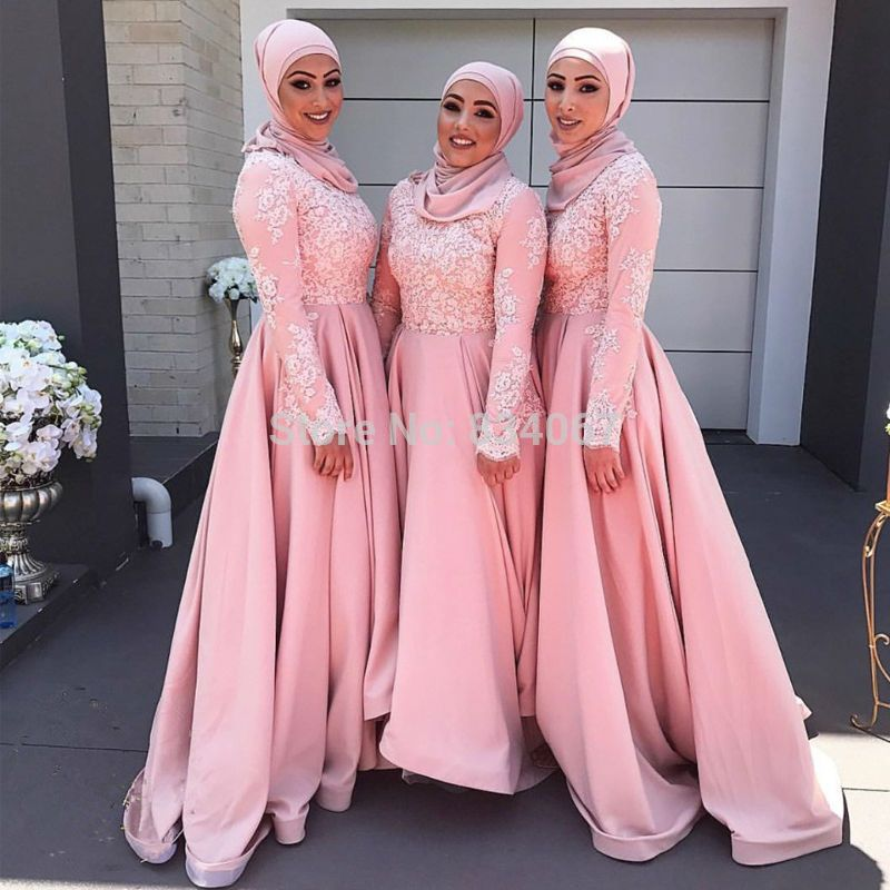 Image result for bridesmaids dress hijab - Modest Bridesmaids Outfit ...