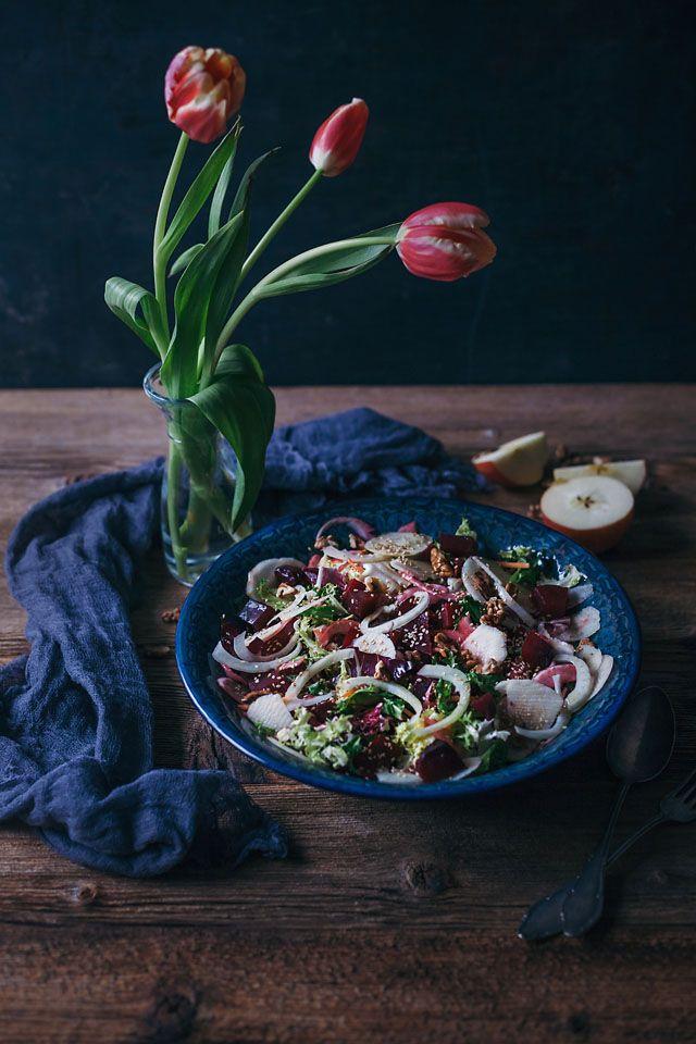 Beetroot, fennel & apple salad – Travelling oven