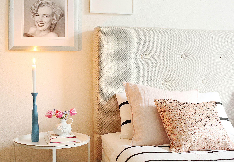Schlafzimmer, Wohnen, Applicata, Deko, Bett, Ikea