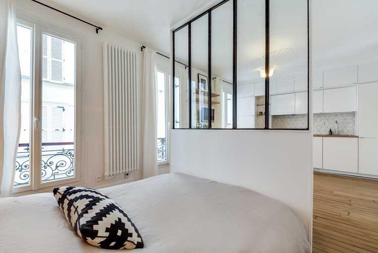 Comment créer une chambre dans un studio sans édifier un mur? Studio