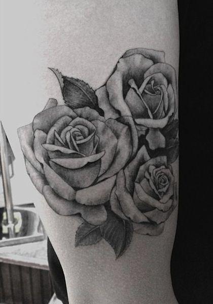 Roses By Dr Woo Tattoo Artist Los Angeles Tatuirovki Cvety
