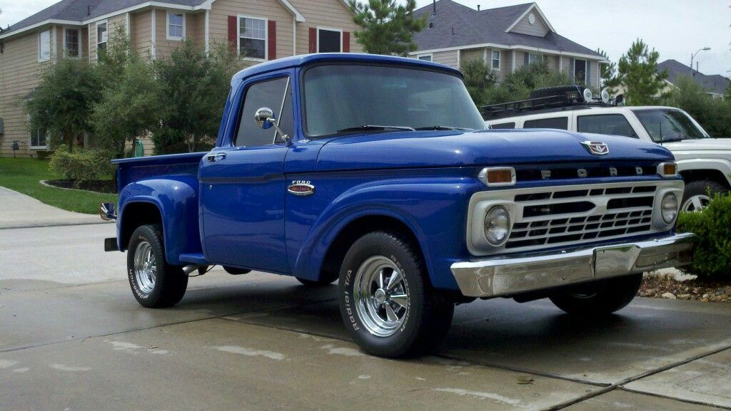 Pin By Gary Taylor On Old Wagon Classic Pickup Trucks Old Ford Trucks Ford Trucks