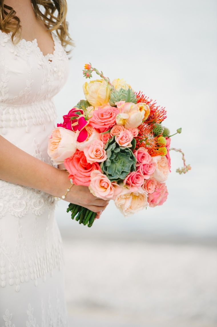 Stunning Coral And Pinks In This Bouquet Bouquets Pinterest