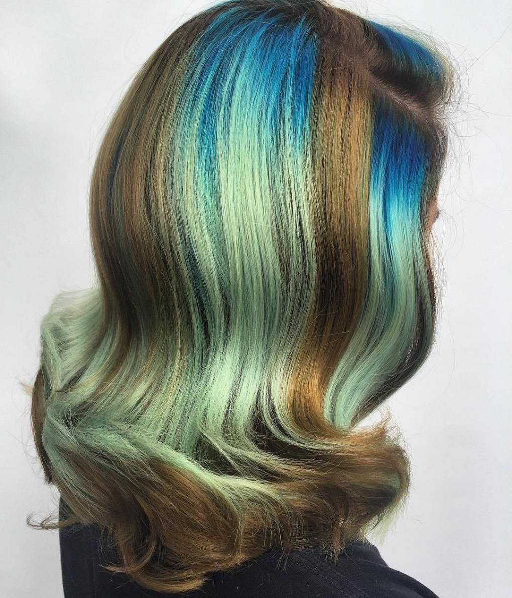 Gimme the Blues: Bold Blue Highlight Hairstyles advise