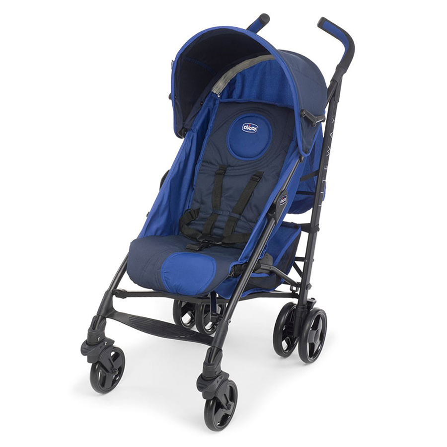 Chicco LITE WAY STROLLER BASIC Royal (con imágenes