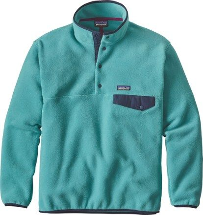 Patagonia Men's Synchilla Snap T Fleece Pullover Roots Red