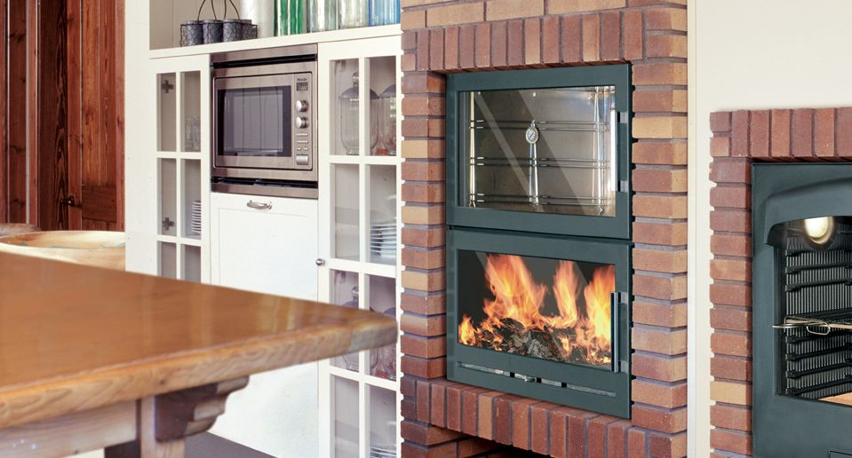 Hergom Santacruz Gas And Wood Stoves And Fireplaces In Cast Iron