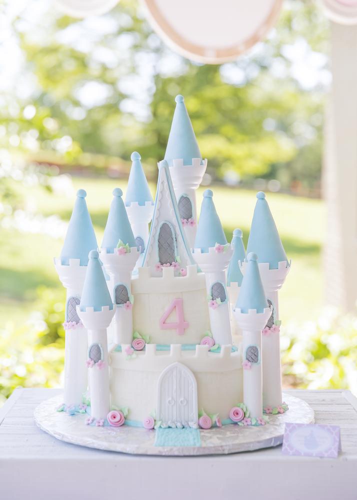 Princess Birthday Party Ideas   Castle birthday party ...