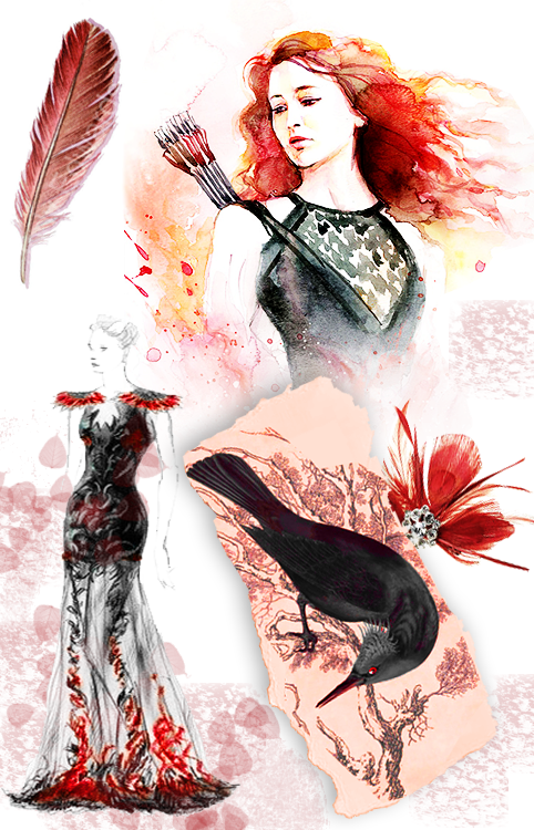 Katniss everdeen dress tumblr color