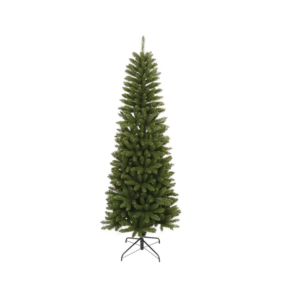 6 5 Ft Unlit Slim Artificial Christmas Tree With 762 Tips 13509 Slim Artificial Christmas Trees Artificial Christmas Tree Colored Led Lights