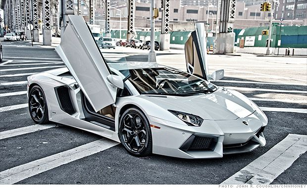 Exotic car sales surge to record high :  Lamborghini  Veneno Roadster   cost  $4.5 million