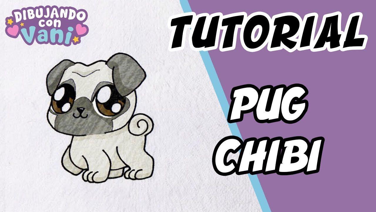 Como Dibujar A Un Pug Chibi Draw Pug Chibi Como Dibujar Un Perro Pug Kawaii Dibujo Paso A Paso