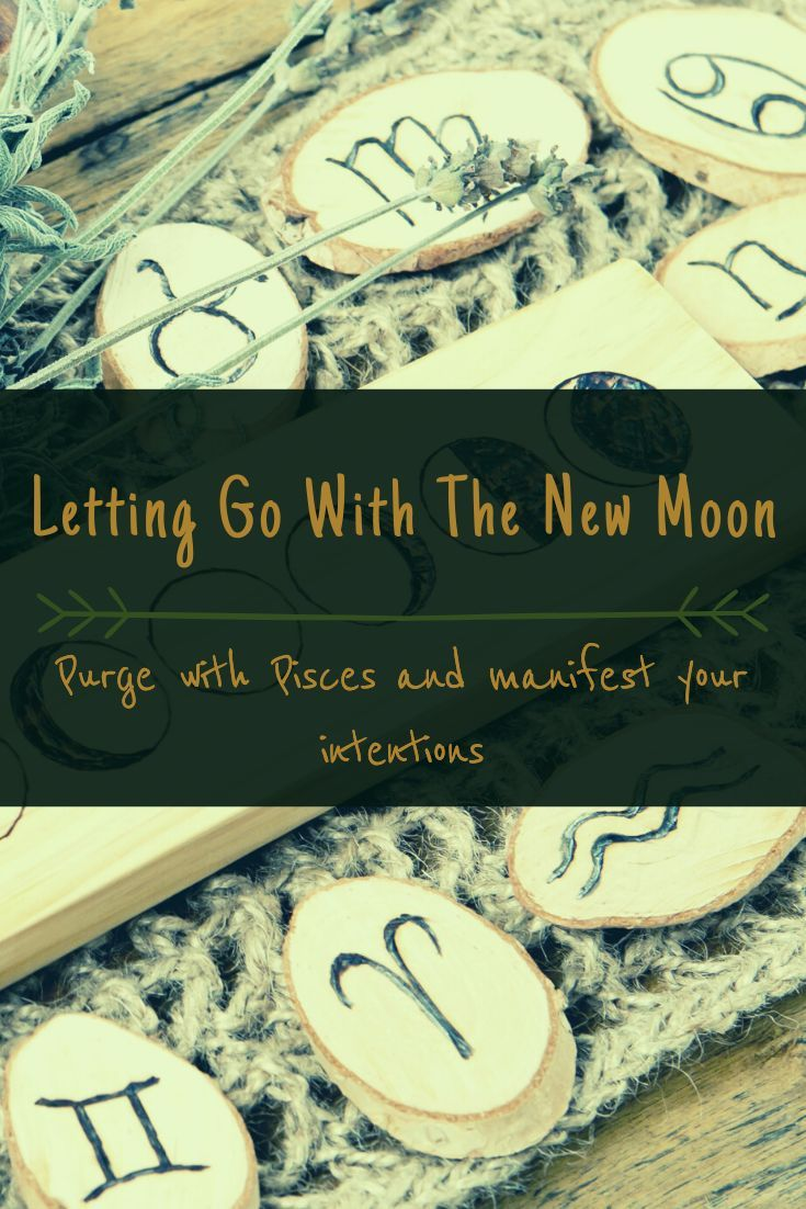 Letting Go With The New Moon : New Moon Ritual | Solstice Sisters