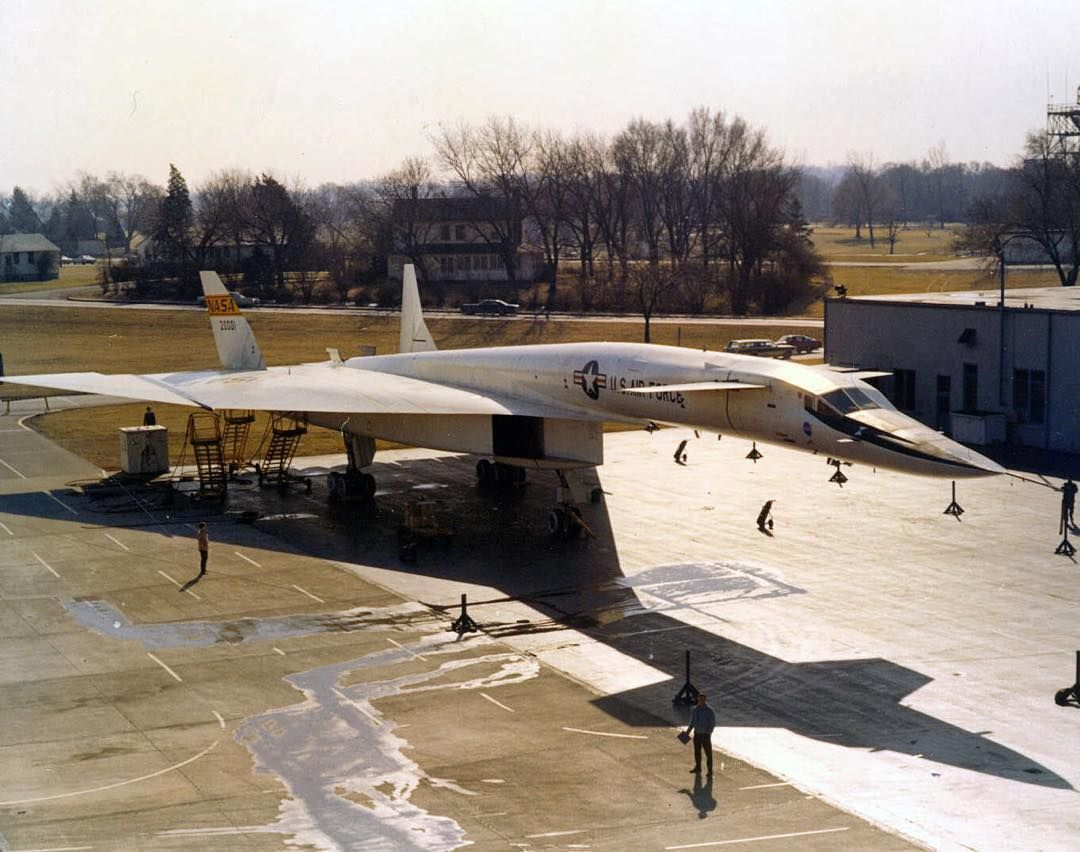 North American Aviation XB70A VALKYRIE 620001 is in the